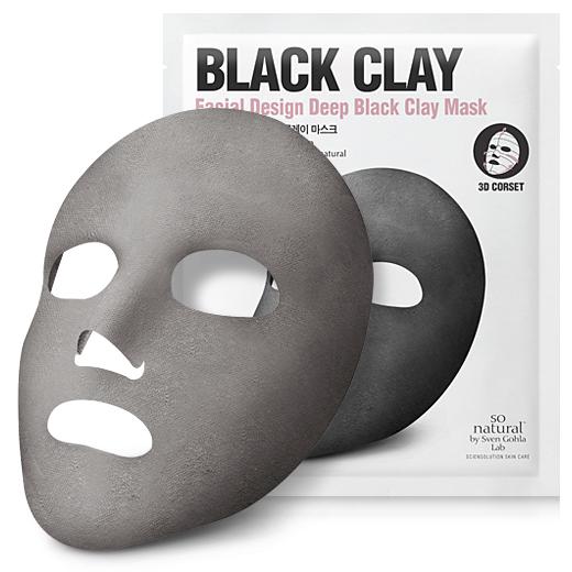 블랙 머드 마스크